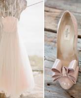 زيني فستان زفافك بإضافات ملونة